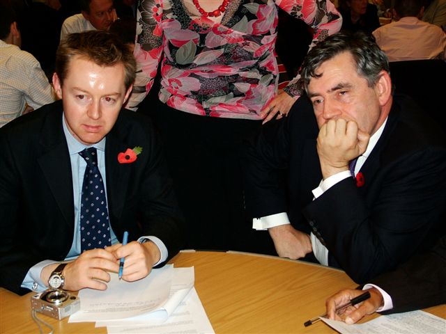 Stephen Beer  Gordon Brown Lam